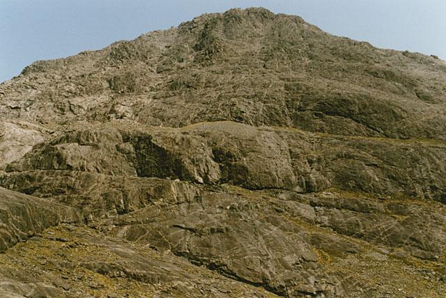 The western face of Sgurr nan Eag