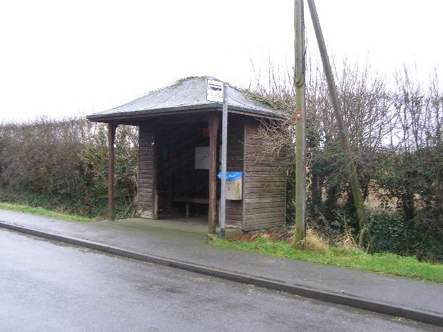 Bus-shelter, Plungar