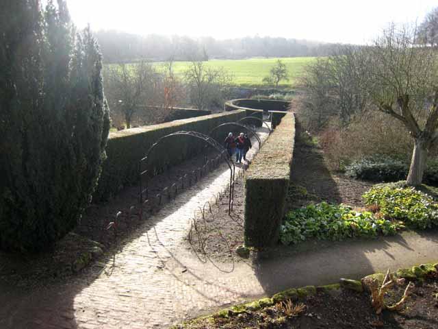 Walled garden at Wallington