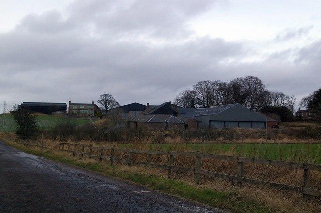 Balwyllo Farm near Bridge of Dun