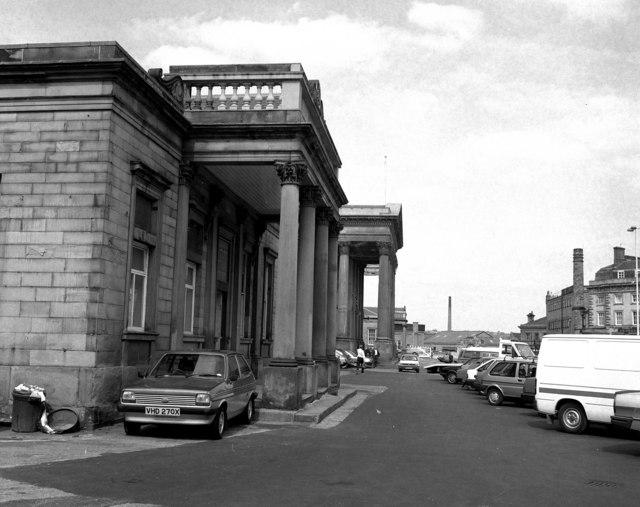 Huddersfield station
