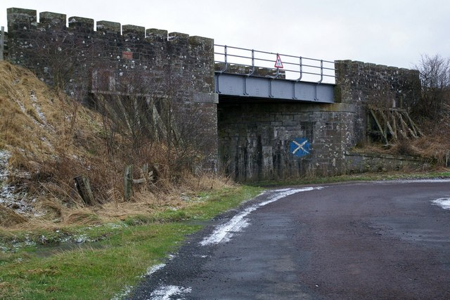 Railway Bridge near Balwyllo Farm, Montrose