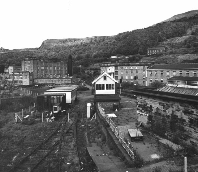 View from Station Approach ,Halifax