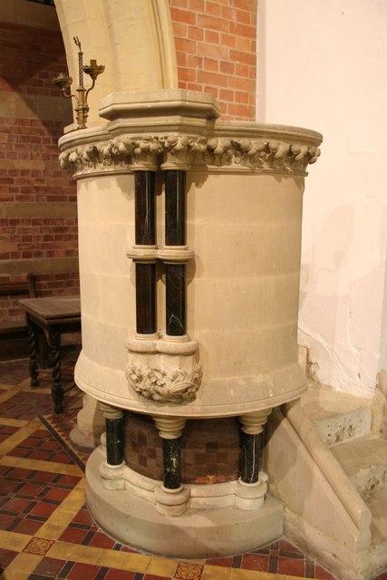 St.Martin's pulpit