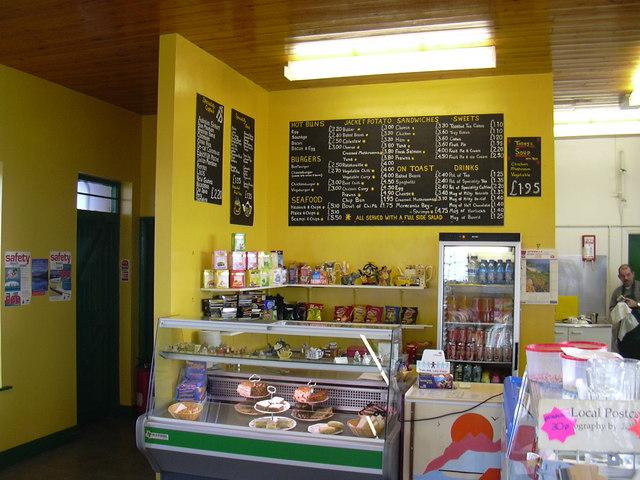 Stone Jetty Cafe Interior