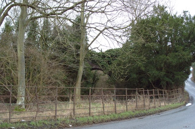 Cleehill Railway hidden Viaduct