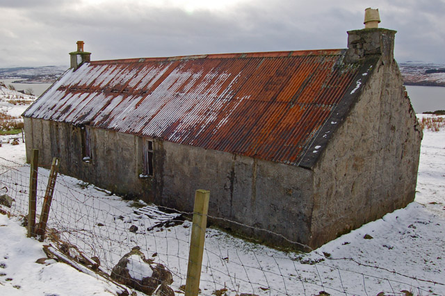 Abandoned house at Kingsburgh