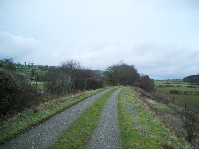 Old trackbed near Olwen