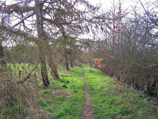 Footpath to Grove Park