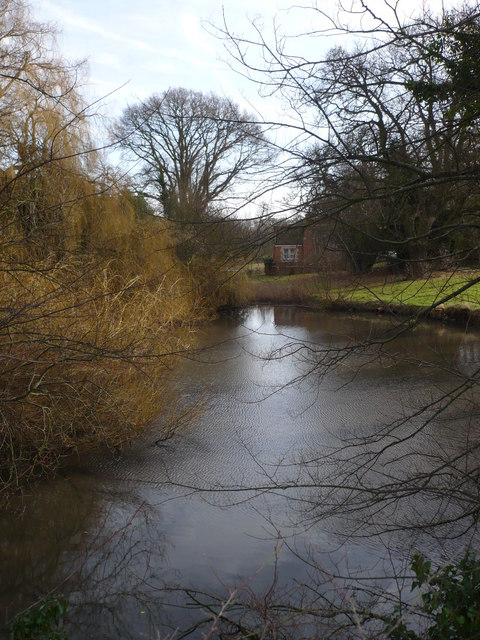 Pond by the lane to Aymers