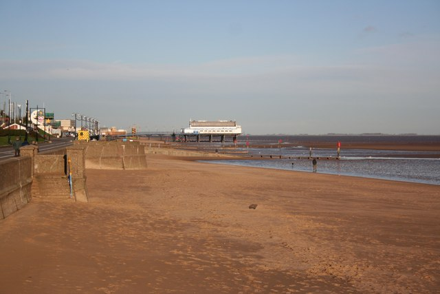 View to the pier