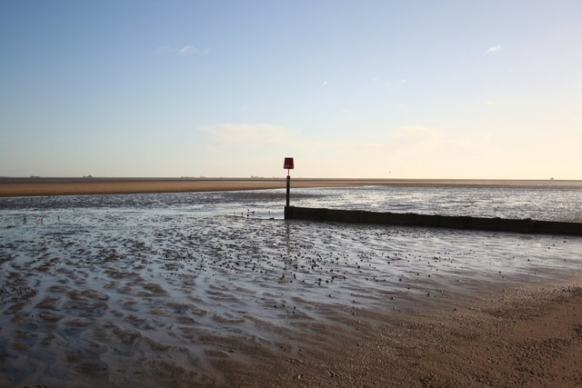Low tide at Cleethorpes