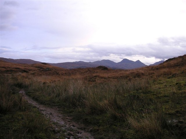 The track from Strontian to Polloch