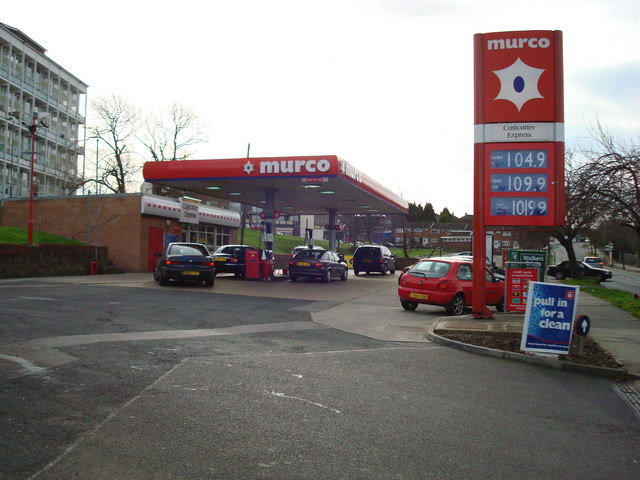 Petrol Station, Chipperfield Road, St Paul's Cray