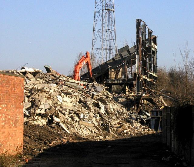 Boothferry Park Demolition