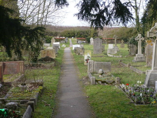 Cemetery, Lynsted village