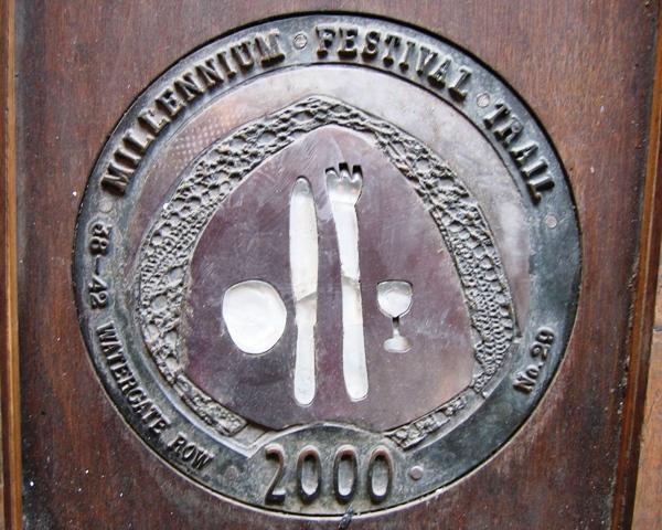 Millennium Festival Trail: 38-42 Watergate Row - No 29