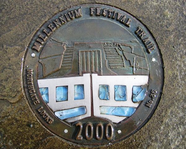 Millennium Festival Trail: Northgate Locks - No 35