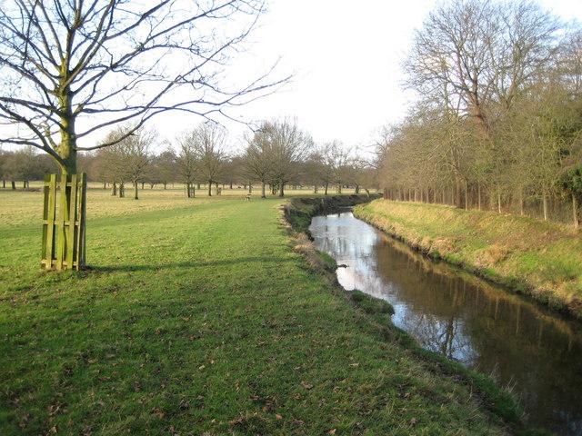 Richmond Park: Beverley Brook
