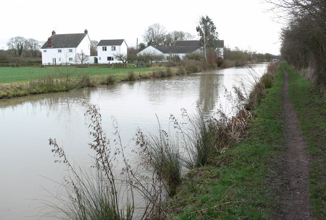 South along the Ashby Canal