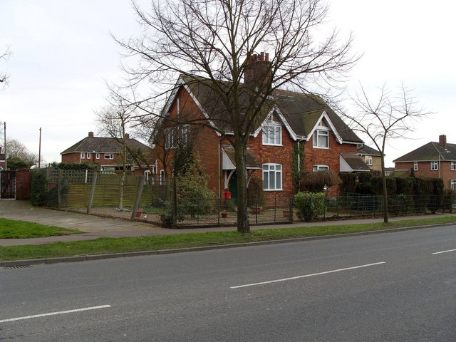 Former Farmworkers' Cottages, South Tuckswood