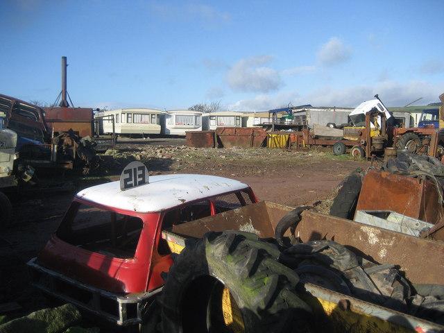 Scrapyard, Foster Cliffe Farms
