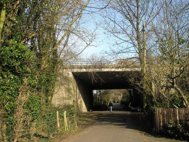 Bridge under A27