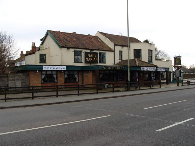 The Maid Marian Inn, Ipswich Road, Norwich