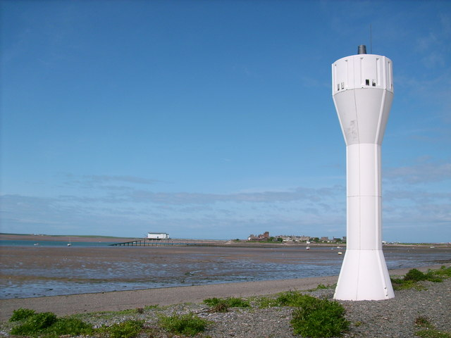 Beacon on Foulney Island