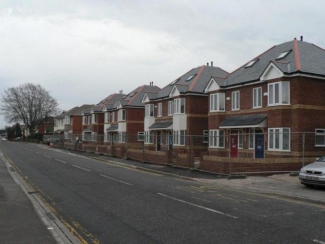 Ensbury Park: new homes aplenty