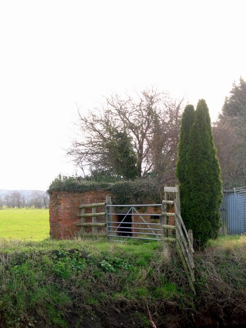 Pill Box in Upper Godney