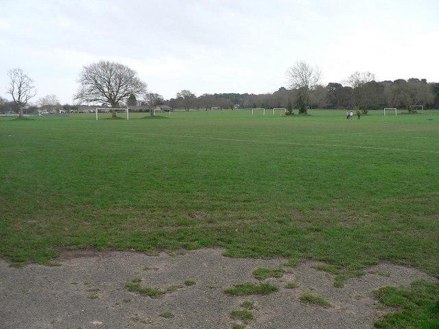 Ensbury Park: Slades Farm playing field