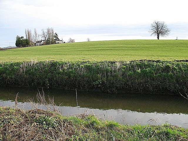 The river Sheppey and Garlsade Farm