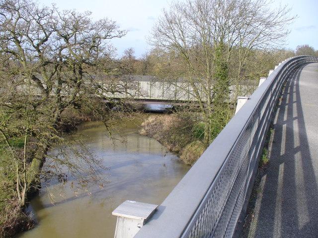River Mole at Stoke d'Abernon Bridge