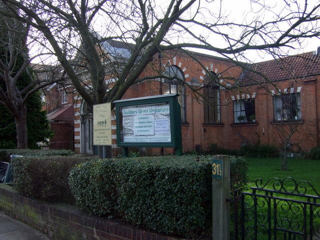 Unitarian Church, Golders Green