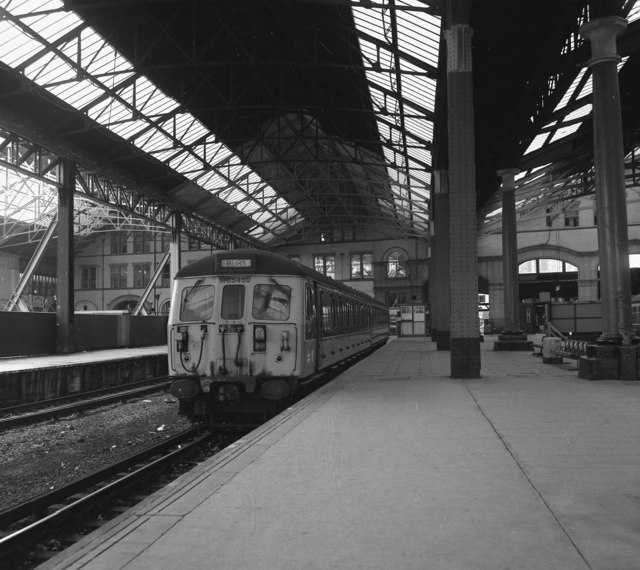 Platform 5, Manchester Victoria station