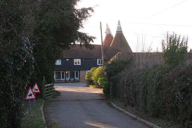 Castle Hill Farm Oast, Pembury Road, near Tonbridge, Kent