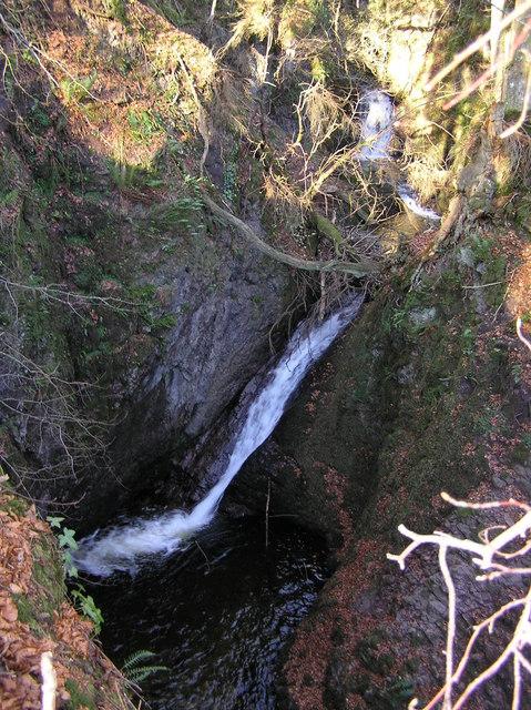 At the Falls of Keltie
