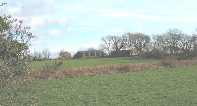 Bryn Farm from the Llithfaen to Llannor road