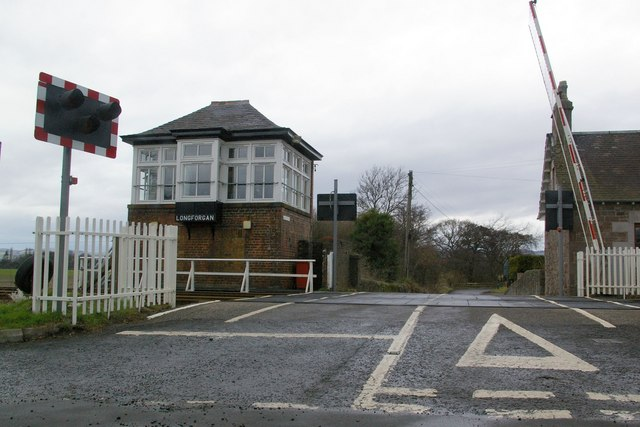 Level Crossing at Longforgan