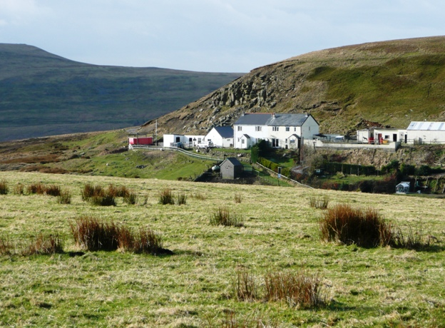 Farm below Mulfran