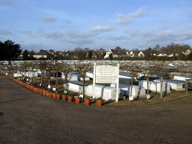 The Jewish cemetery, Hoop Lane