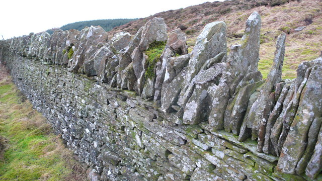Magnificent slate dyke