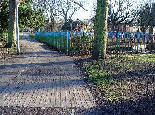 A Pearson Park Path, Hull