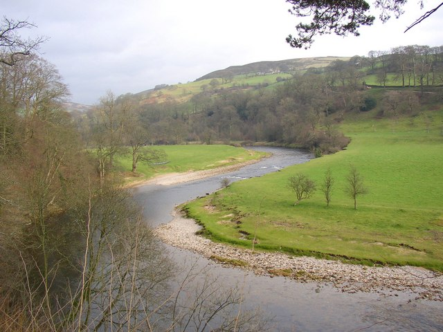 View of the River Wharfe, Bolton Abbey