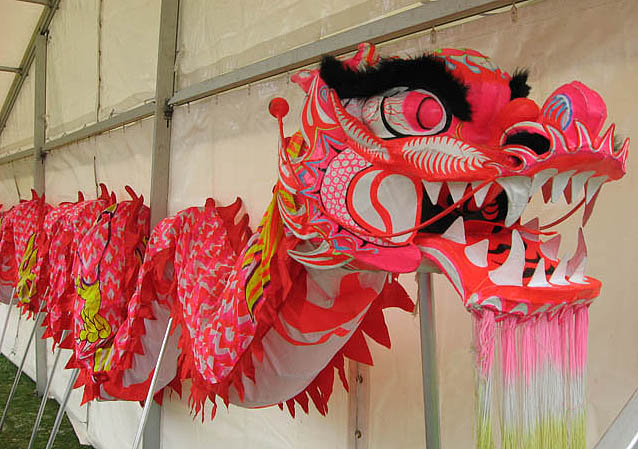 The Chinese Dragon Festival dragon