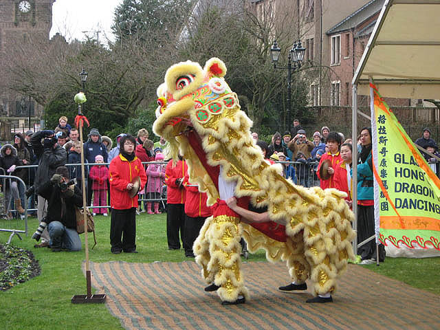 Lion Dancing Ireland The Lion Dance