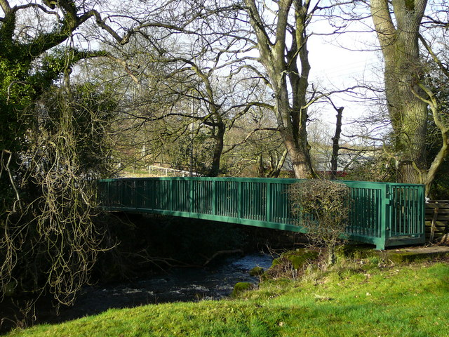 Footbridge over the Waskerley Beck