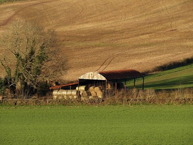 Barn near Humber