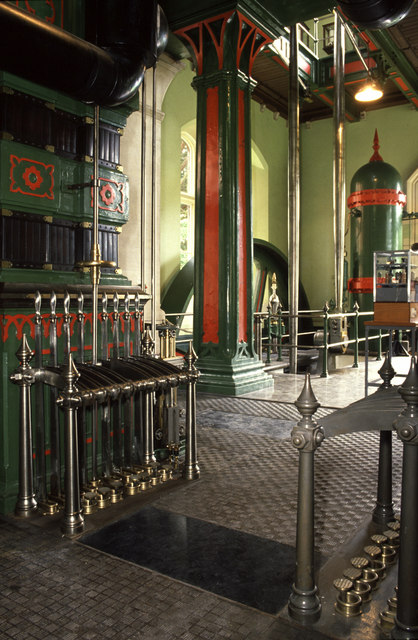 Blagdon Pumping Station - steam engine